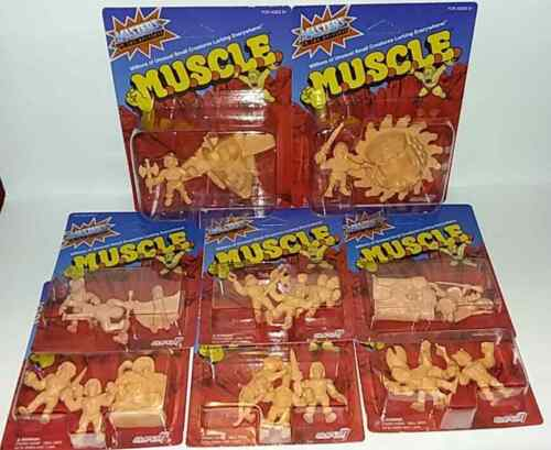 Super7 MOTU MUSCLE Figures 8 Packs Wave 2 and Wave 3 Masters of the Universe