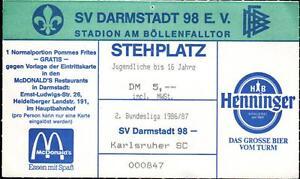 Tickets Sv Darmstadt 98