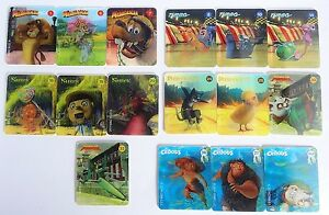 Details about Woolworths Dreamworks Heroes 3D Holographic Cards Small Mixed  Lot Exc Cond 105