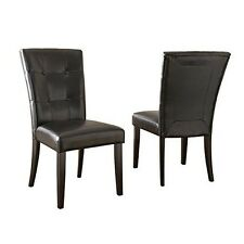 Steve Silver MC500S Company Monarch Parsons Chair- Set of 2 NEW