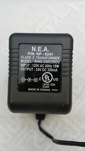 N-E-A-POWER-SUPPLY-24-VDC-350MA-RH48-2400350DU-5-5MM-X-2-1MM-PLUG