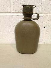 Military Surplus Canteen Rigid Plastic with NBC Cap OD Green U.S Army USMC USAF