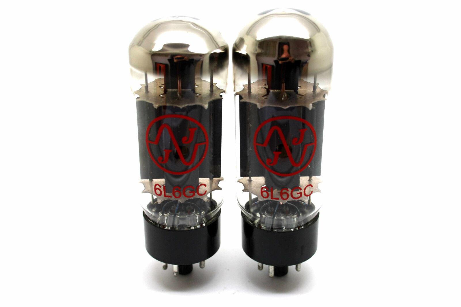 prodotto di qualità JJ 6L6GC 6L6 6L6 6L6 MATCHED PAIR VACUUM TUBES AMP TESTED  in vendita