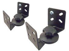 2 Lautsprecherhalterung Boxen Halter für Heimkino Lautsprecher Wandhalterung BS7