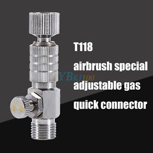 Alloy-1-8-034-Fitting-Airbrush-Quick-Release-Coupling-Adapter-Valve-Disconnect-Part