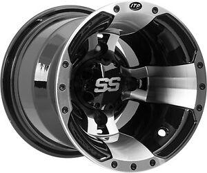4//115 ITP 0928386404B SS112 Sport Wheel Machined 9x8-3+5 Offset