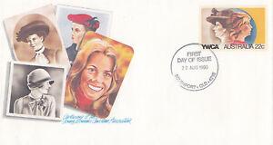 (13846) Australie Entiers Postaux Fdc Ywca 20 Août 1980-afficher Le Titre D'origine Dissipation Rapide De La Chaleur