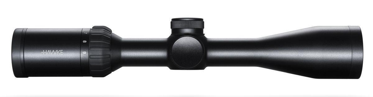 Hawke Panorama 3-9x40 ir amplia FOV grabado de cristal mira para rifle 10x de media Mil Dot