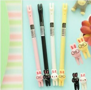 Image Is Loading Bunny Rabbit Gel Pens Super Cute Cartoon Animal