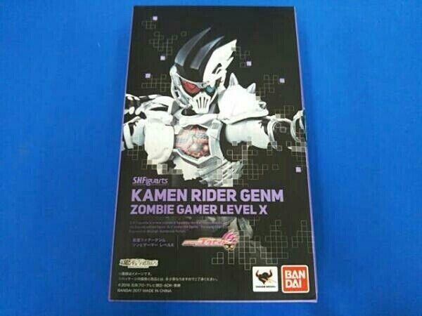 BANDAI figura S.h. Figuarts enmasCocheado Kamen Rider ex-Aid genm Zombie Juegor nivel X