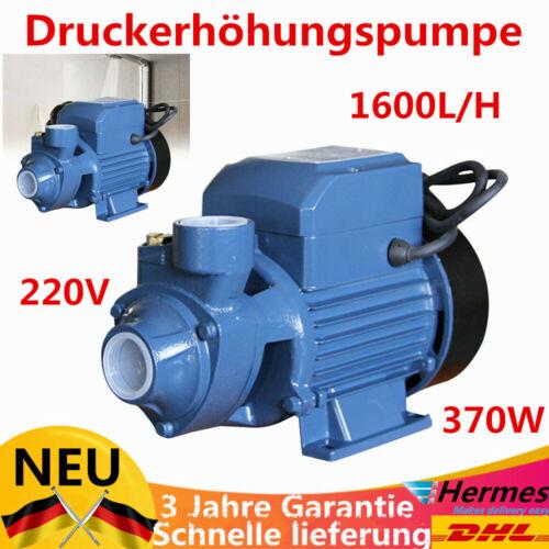 SALE 220V 370W Druckerhöhungspumpe Wasserumwälzpumpe fur Küche Badezimmer