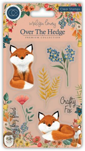 New Craft Consortium Over The Hedge Stamp Set Henry The Fox