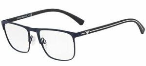 Vornehm Emporio Armani 1079 55 3092 Blau Sunglasses Occhiale Ansicht Eyewear Lunettes Einen Einzigartigen Nationalen Stil Haben Augenoptik