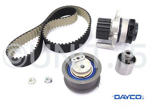 Audi-Ford-Seat-Skoda-VW-1-9-2-0-Tdi-Complet-DAYCO-Pompe-a-eau-amp-Timing-cambelt-Kit