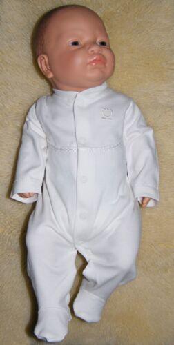 """Baby Schlafanzug in creme /""""Das Blümchen/"""" Gr 56,62,68,74,80 Baby Overall NEU"""