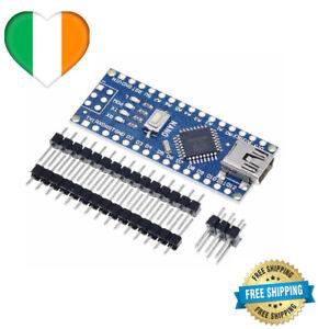 Nano V3.0 Mini USB ATmega168 Micro-Controller CH340G Driver For Arduino 5V 16MHz