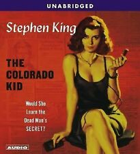 Stephen King The Colorado Kid CD  New Sealed 4 CDs