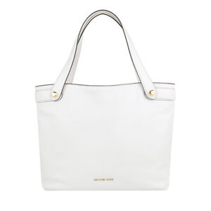 Image is loading Michael-Kors-Hyland-Pebbled-Leather-Medium-Convertible -Tote- 8fe12a6fea