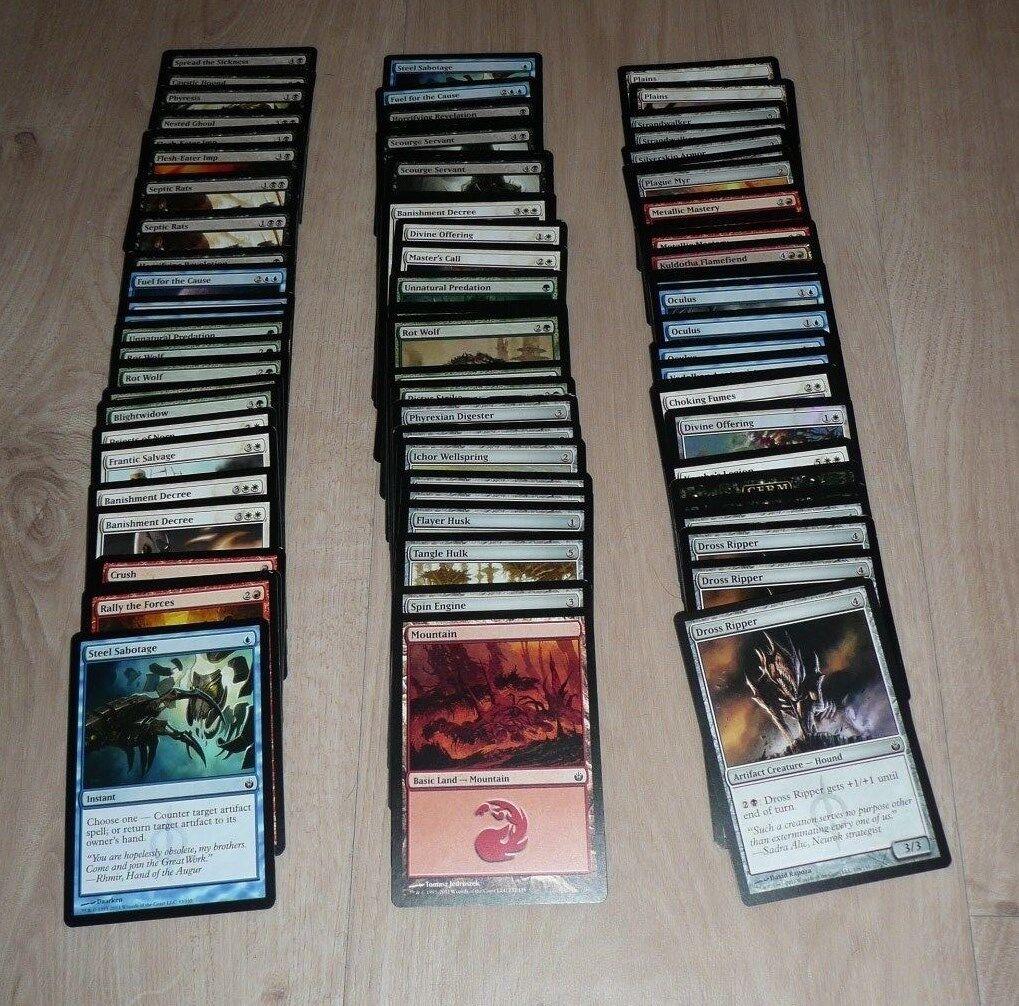 MtG Mirrodin Besieged Magic Magic Magic the Gathering BULK LOT 83 CARDS 9c8d19