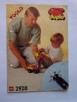 Selbstbewusst 2920 Unsicher Gehemmt Verlegen Lego® Bauanleitung / Instruction Nr Befangen