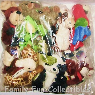 COCA-COLA~1999 Cavanagh~Coke Bean Bag Doll~Set 2~Can Can the Pelican~Cuba~NEW