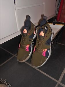 Uk Size 12.5 Nike Pg2 Acg Basketball Trainers Brand New With Part Box