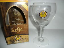 Leffe Glass Limited Edition x 1 Abbas Belgian Beer Glass BNIB