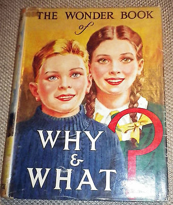 Analytisch The Wonder Book Of Why And What? 15th Edition Ward Lock Circa 1950 Een Brede Selectie Kleuren En Motieven