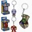 Funko Pocket Pop Keychain Groot,Vinyl Figure Keyring Gift US Hulkbuster,Thanos