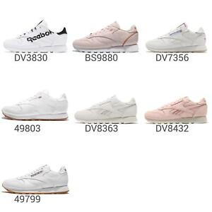 Reebok-CL-LTHR-Classic-Womens-Retro-Vintage-Style-Running-Shoes-Sneakers-Pick-1