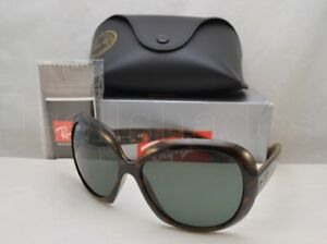 8392f15eae7 Ray Ban JACKIO OHH II (RB4098-710 71 60) Light Havana with Green ...
