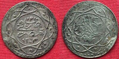 Dashing Egypt Rare M4-4 Ottoman 10 Para Sultan Mahmoud Ii 1223/23 Ah
