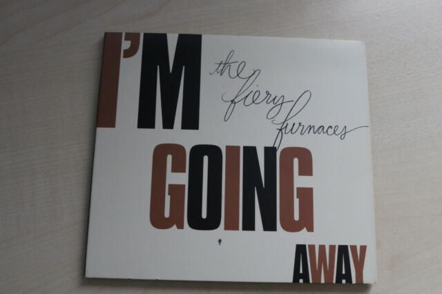 THE FIERY FURNACES - I'M GOING AWAY (CD ALBUM) digipak