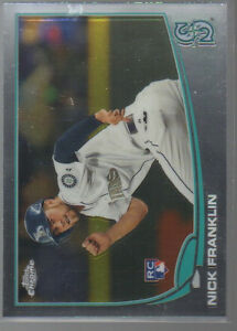 (11) COUNT LOT NICK FRANKLIN 2013 TOPPS CHROME ROOKIE CARD # 154  FREE SHIPPING