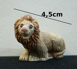 lion en céramique miniature,coll<wbr/>ection,vitrine<wbr/>,animal sauvage,leeuw,<wbr/>lion   **T1