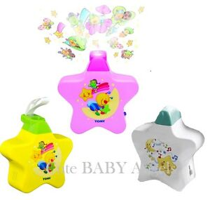 Baby-Nursery-Star-Cot-Mobile-Tomy-Star-Light-Dreamshow-Projector-Lullaby-Player
