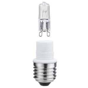 Paulmann-549-18-Sockelset-42-W-E27-auf-G9-Klar-Minihalogen