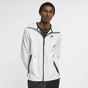 Details about Men's Nike Sportswear Tech Pack Full Zip Hoodie White Size LARGE AA3784 121 NWT