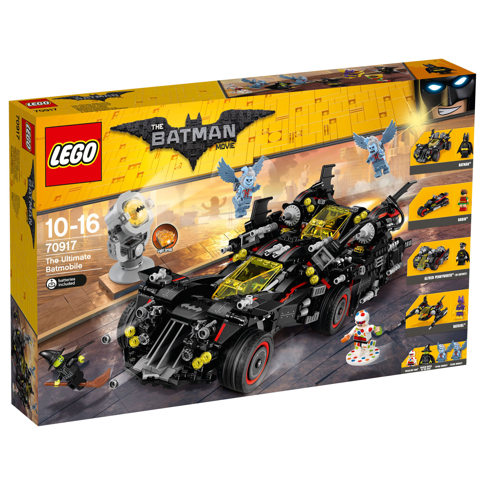 70917 LEGO Batman Movie The Ultimate Batmobile 1456 Pieces Age 10-16 New 2017