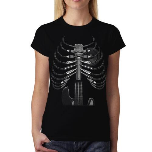 Amped Up Guitar Women T-shirt M-3XL New