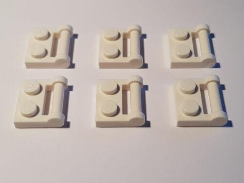modifiziert LEGO® 6 x 48336 Platte 1 x 2 mit Griff Halter weiß 4222017 #F63