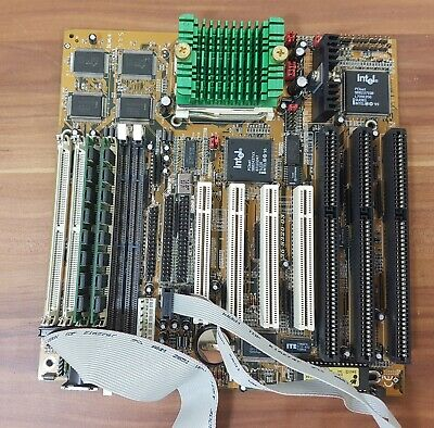 Espressive Pentium 1 Scheda Madre Intel 150mhz 35-8320-03 Pc-partners At-standard 2x16mb Di Ram-
