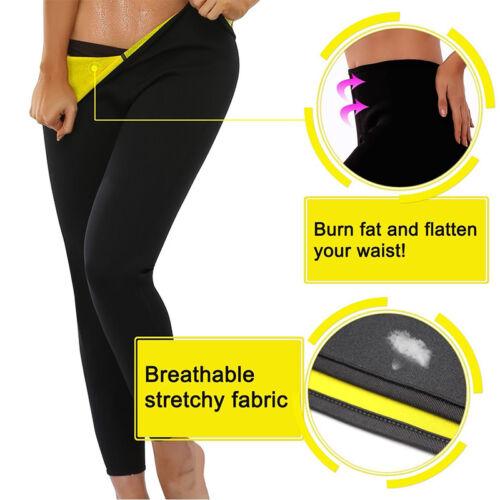 Hot Sweat Sauna Body Shaper Women Slimming Pants Thermo Neoprene Gym Trainer UPS