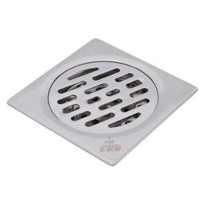 Stainless-Steel-Bathroom-Deodorant-Shower-Hair-Drain-Mesh-Sink-Floor-Strainer