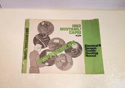 Original OEM 1983 Ford Mustang & Capri Electrical Wiring ...
