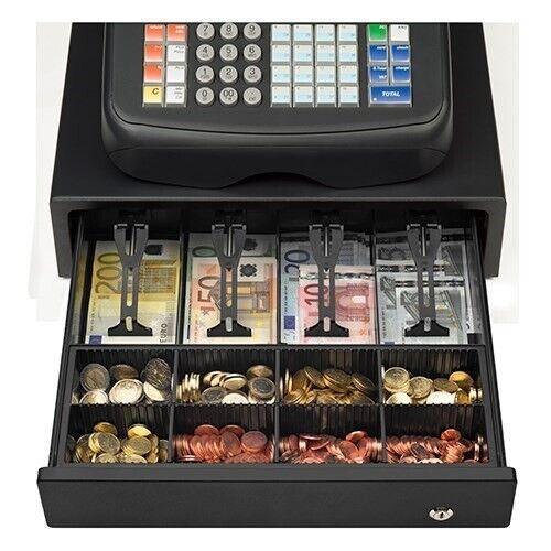 Olivetti kasseapparat med hele 20 varegruppetas...
