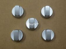 Universal Oven Cooktop Knobs Silver (5 Pack)
