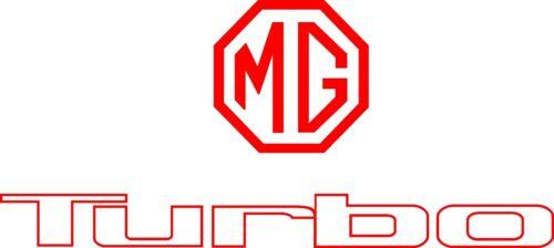 Austin MG Metro turbo  tailgate decals metro restoration stickers graphics