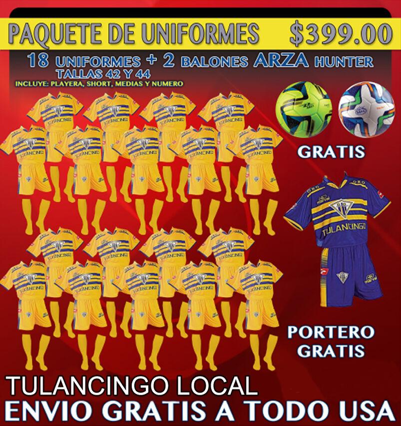 20 Marval Tulancingo Hogar fútbol uniforme (equipo paquete). código de imagen NUM.8