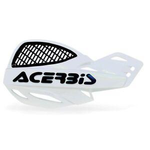 ACERBIS-MX-UNIKO-VENTED-HAND-GUARDS-WHITE-BLACK-Motocross-Universal